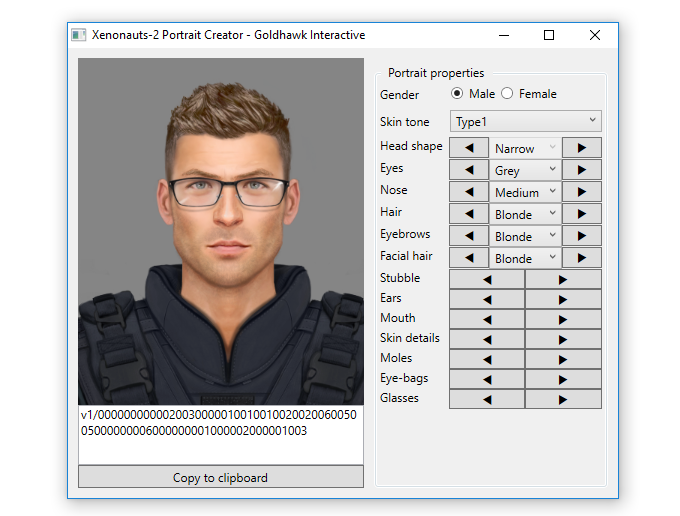 The £35+ tiers allow you to put a custom soldier in the game with your name, nationality and a unique face generated from our portrait editor!