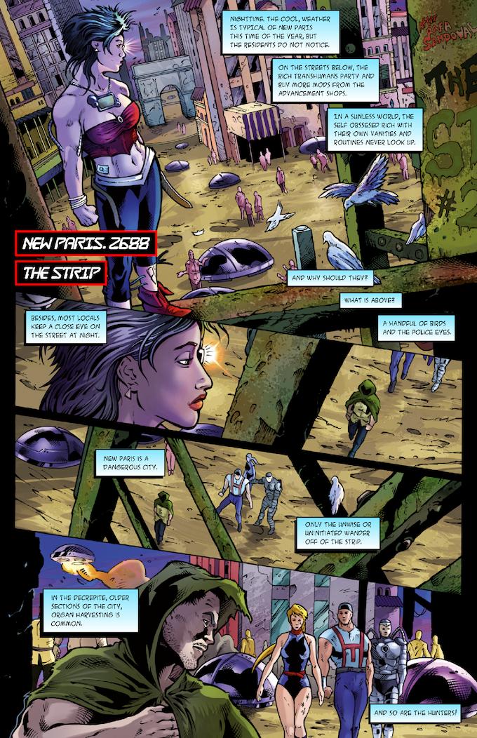 The Strange #2 Page 01