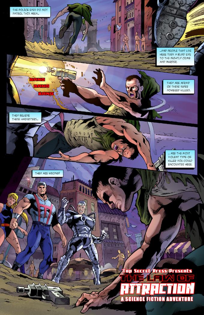 The Strange #2 Page 02