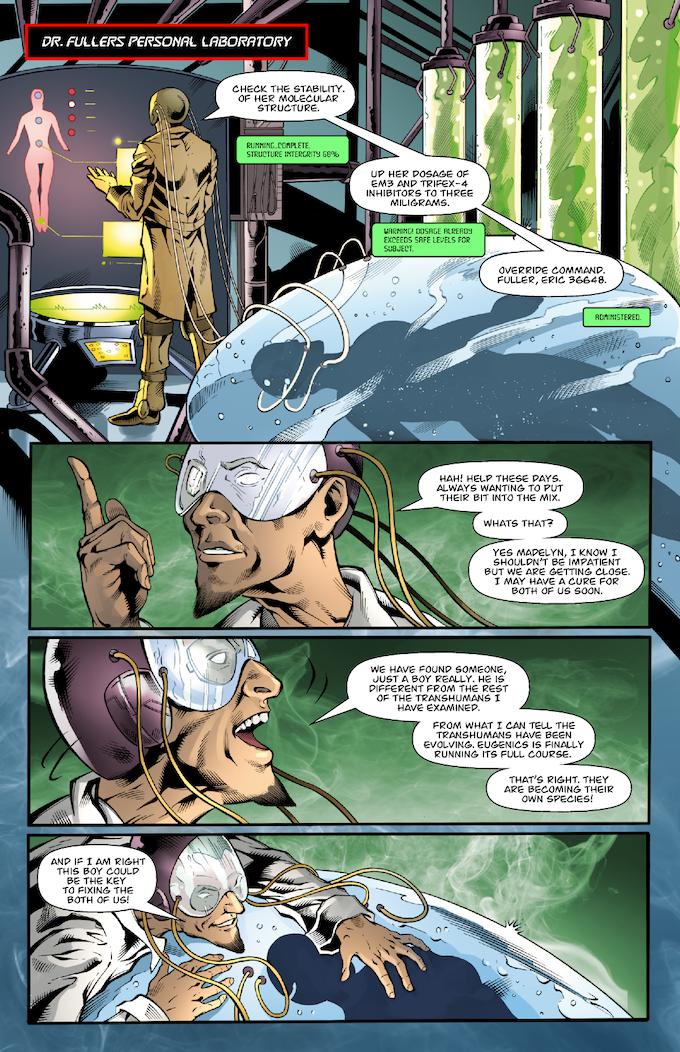 The Strange #3 Page 10