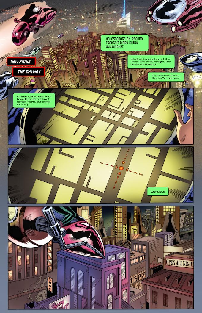 The Strange #3 Page 12