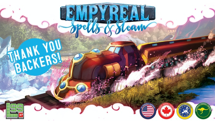 Empyreal: Spells & Steam - A Fantasy Railway-Building Game by David