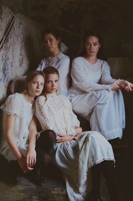 Fern Bain Smith, Jazzy De Lisser, Anna Popplewell and Greta Bellamacina in The Last Birthday