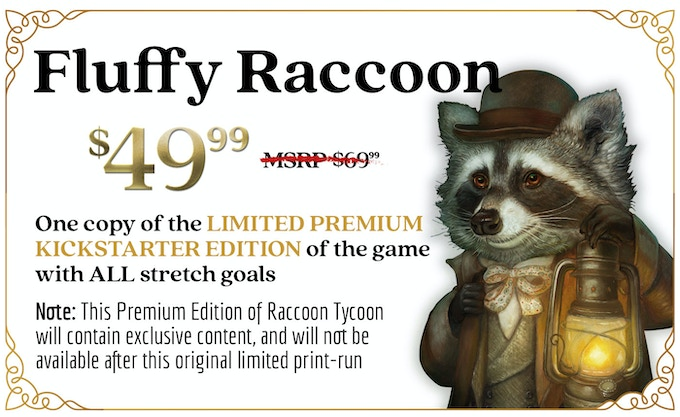 Raccoon Tycoon by Forbidden Games — Kickstarter