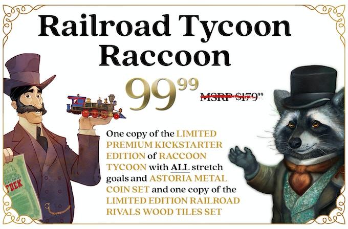 Raccoon Tycoon by Forbidden Games — Kickstarter