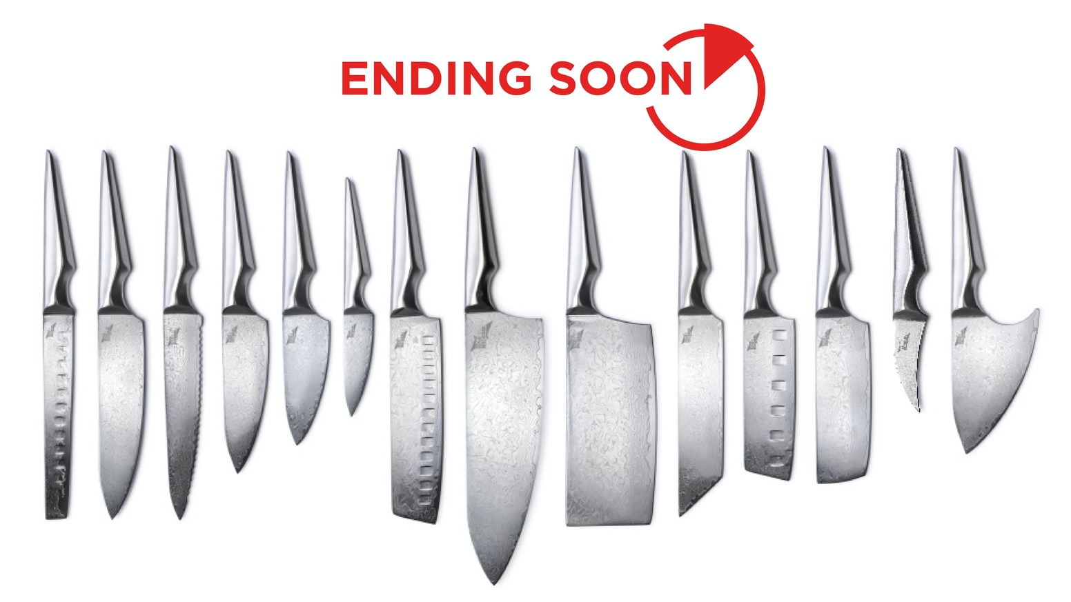 Shiroi Hana is Edge of Belgravia's new and improved chef knife collection. It combines Japanese steel with a polished Damascus blade!