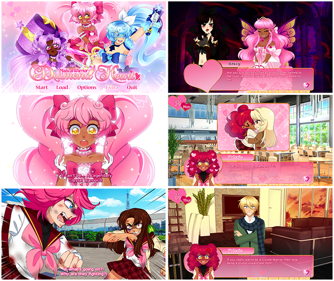 Screenshots from the demo. Click to enlarge!