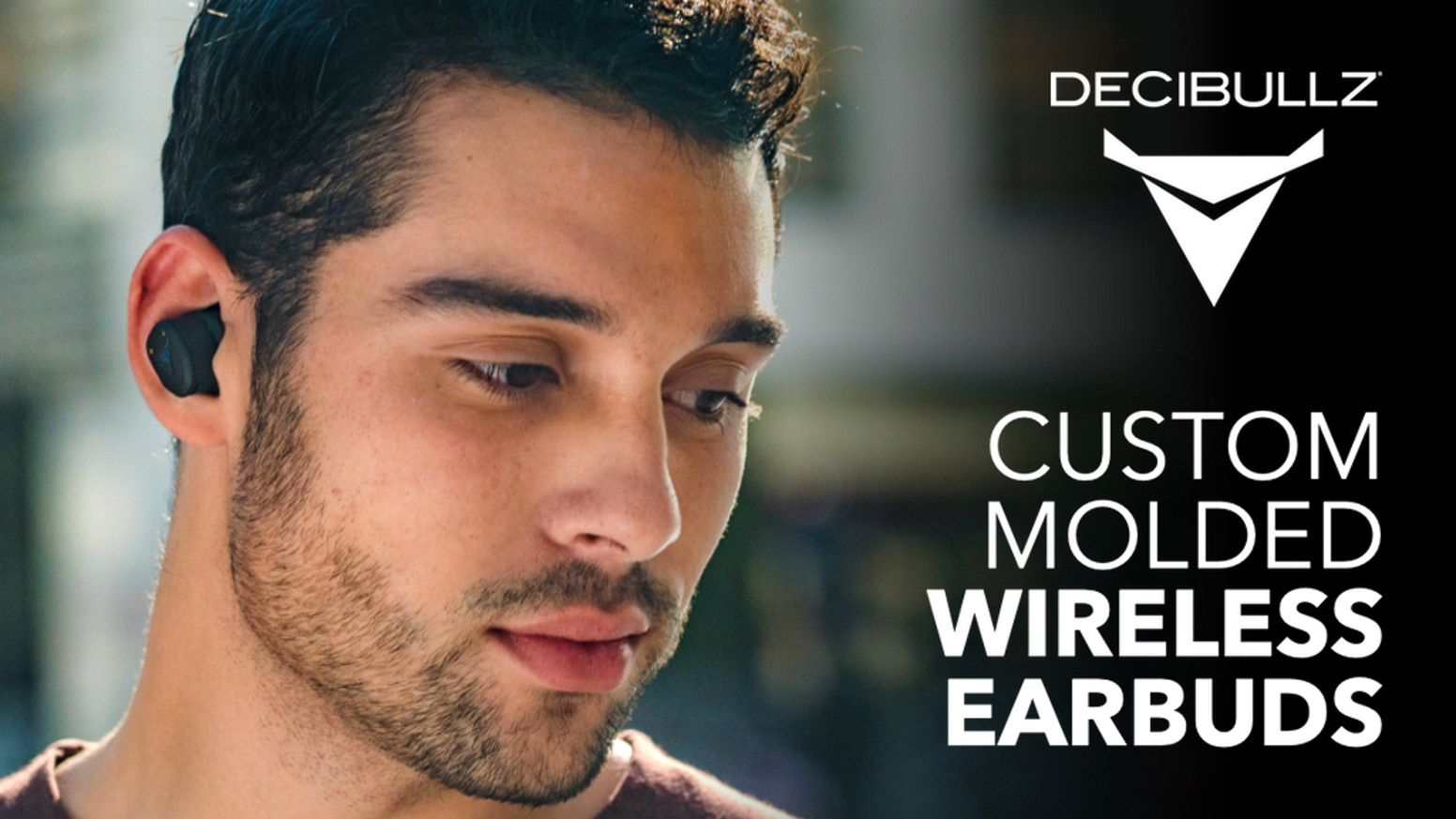 True Wireless Earphones that are easily and quickly shaped to your ears creating a perfect fitting earphone that will never fall out.