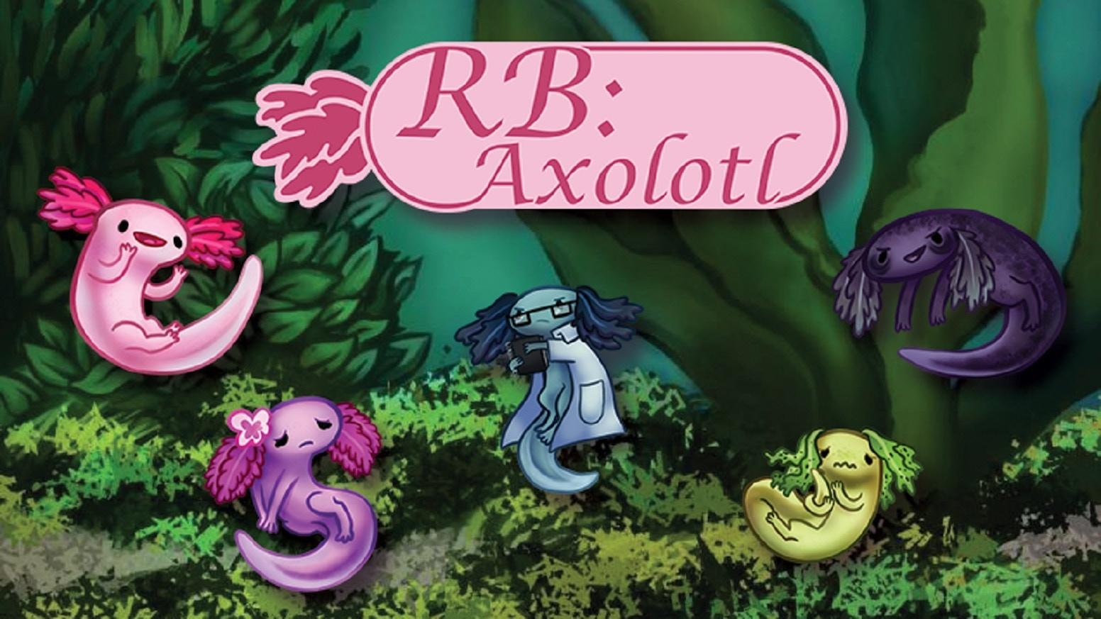 RB: Axolotl - A Dark Tale About Cute Axolotl Visual Novel by