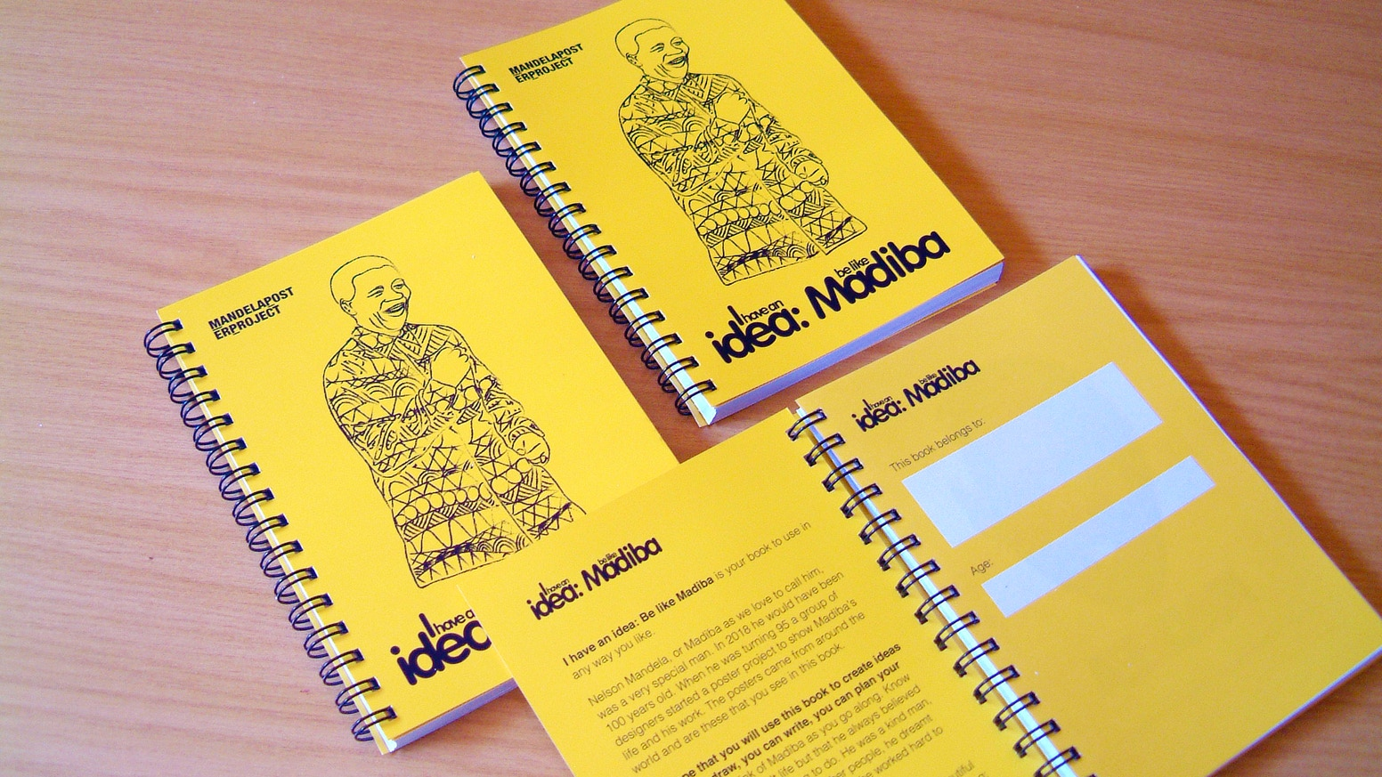 568334dd6 I have an idea: Be like Madiba Journal by Mandela Poster Project ...