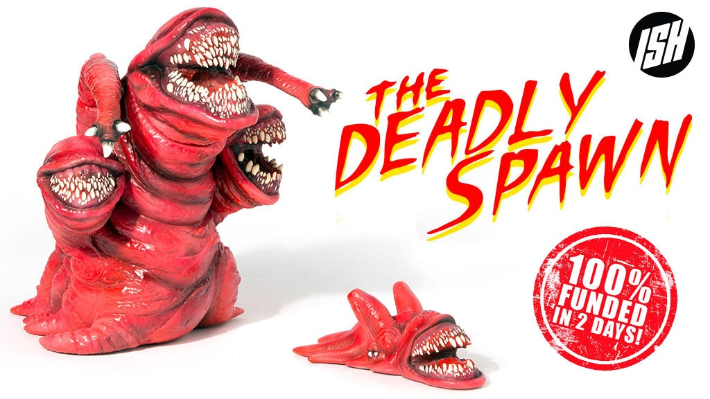 The Deadly Spawn Vinyl Figure project video thumbnail