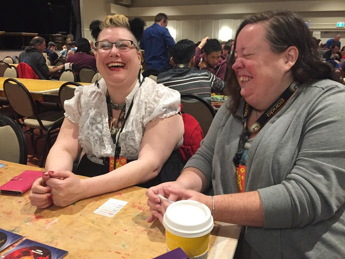 Happy players at Terminal City Tabletop Convention!