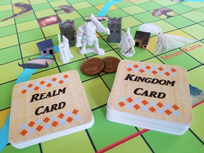 Rule the Realm - board and pieces