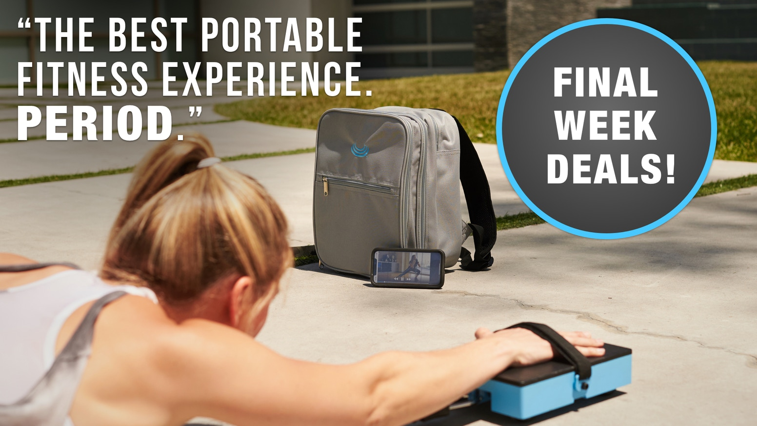 Finesse Fitness is the Ultimate Portable Fitness Bundle and App to Perfectly Fit Your Busy Lifestyle. From the Makers of Somasole.