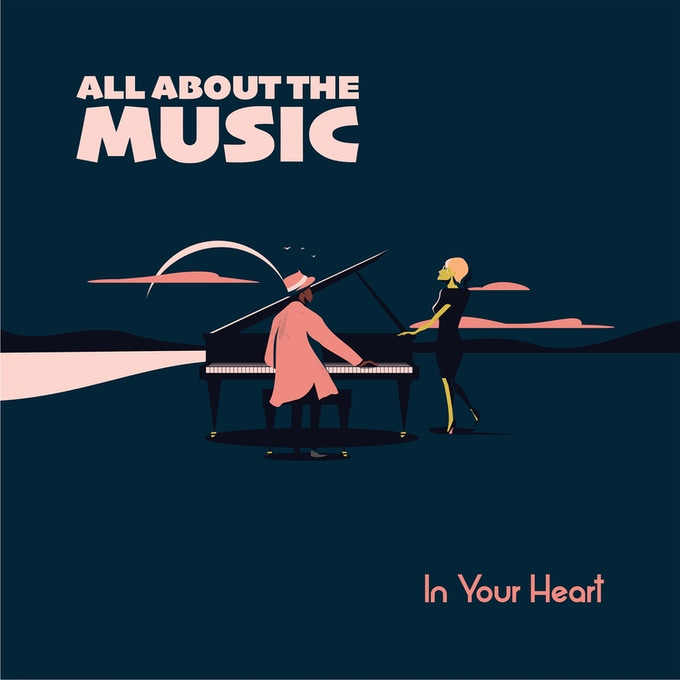 """All About The Music In Your Heart is the very impressive debut of singer-songwriter Kathryn Joy whose songs are performed with an all-star jazz group."" Scott Yanow, Jazz Journalist/Historian"