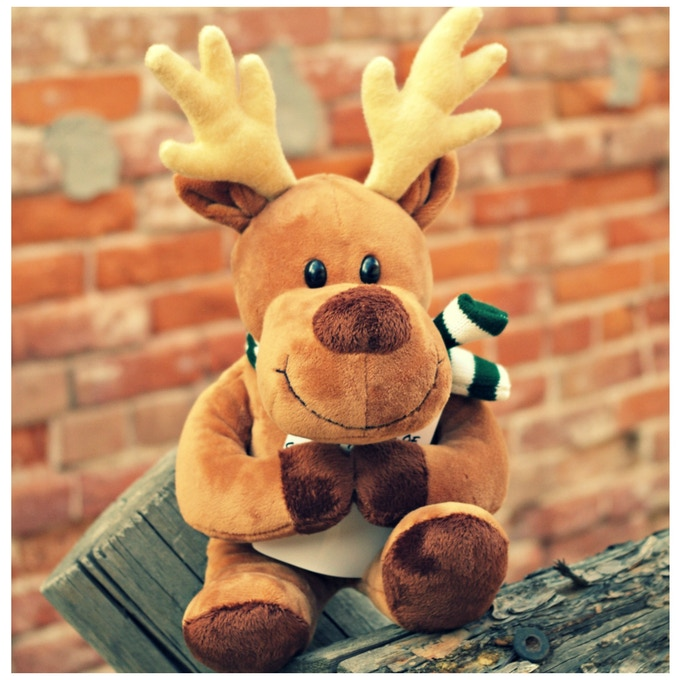 Randy the Reindeer is soft, squishy, and adorable!
