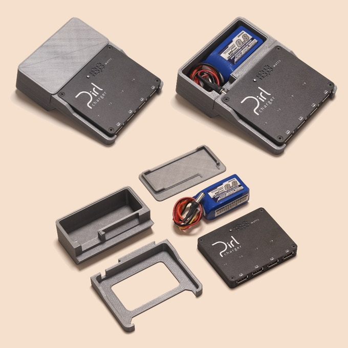 Battery caddy parts