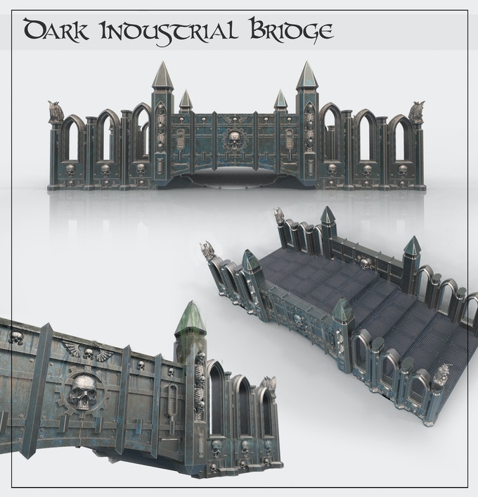 One of our proudest accomplishments... the Dark Industrial model!