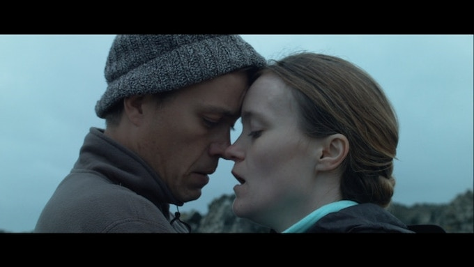 Barney White and Jaclyn Bethany in short version of Indigo Valley