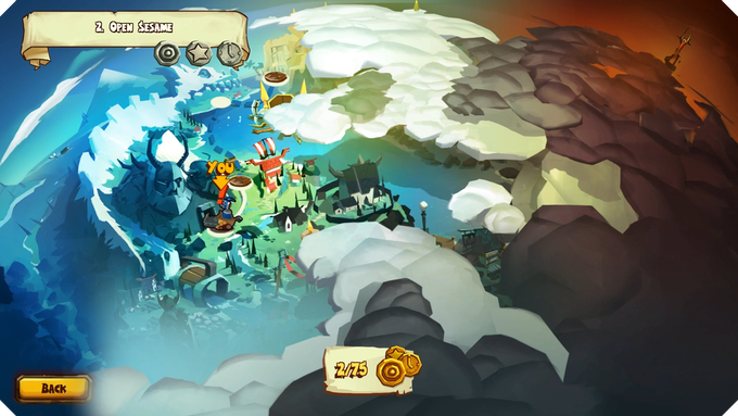 Follow the adventures of Redbeard the Viking as he follows the mysterious trail of missing sheep!