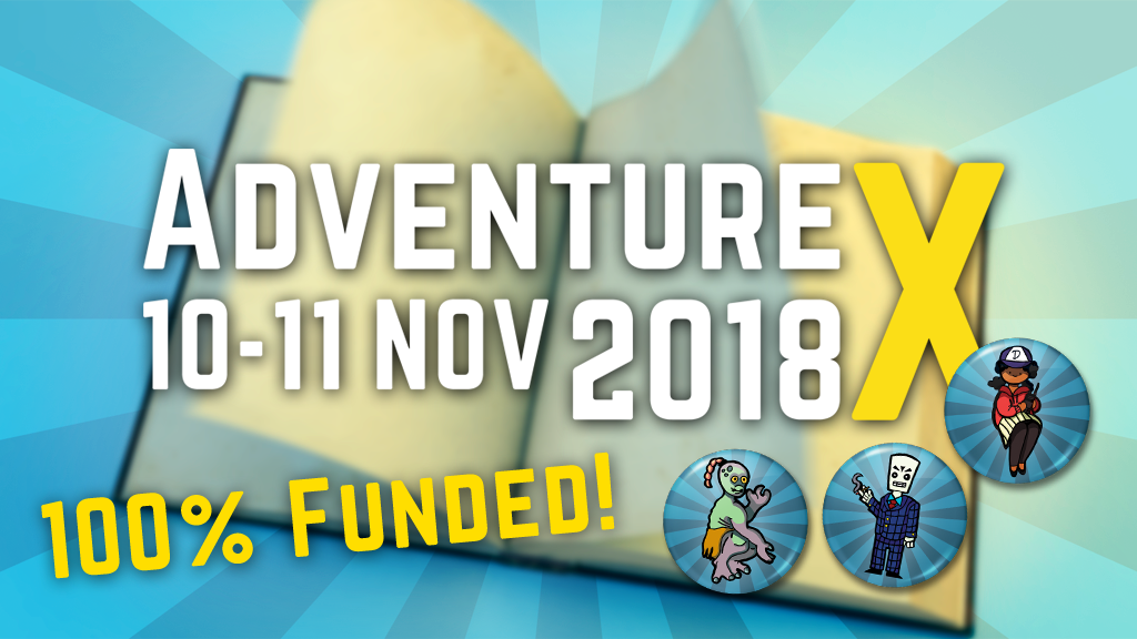 AdventureX 2018: The Narrative Games Convention project video thumbnail