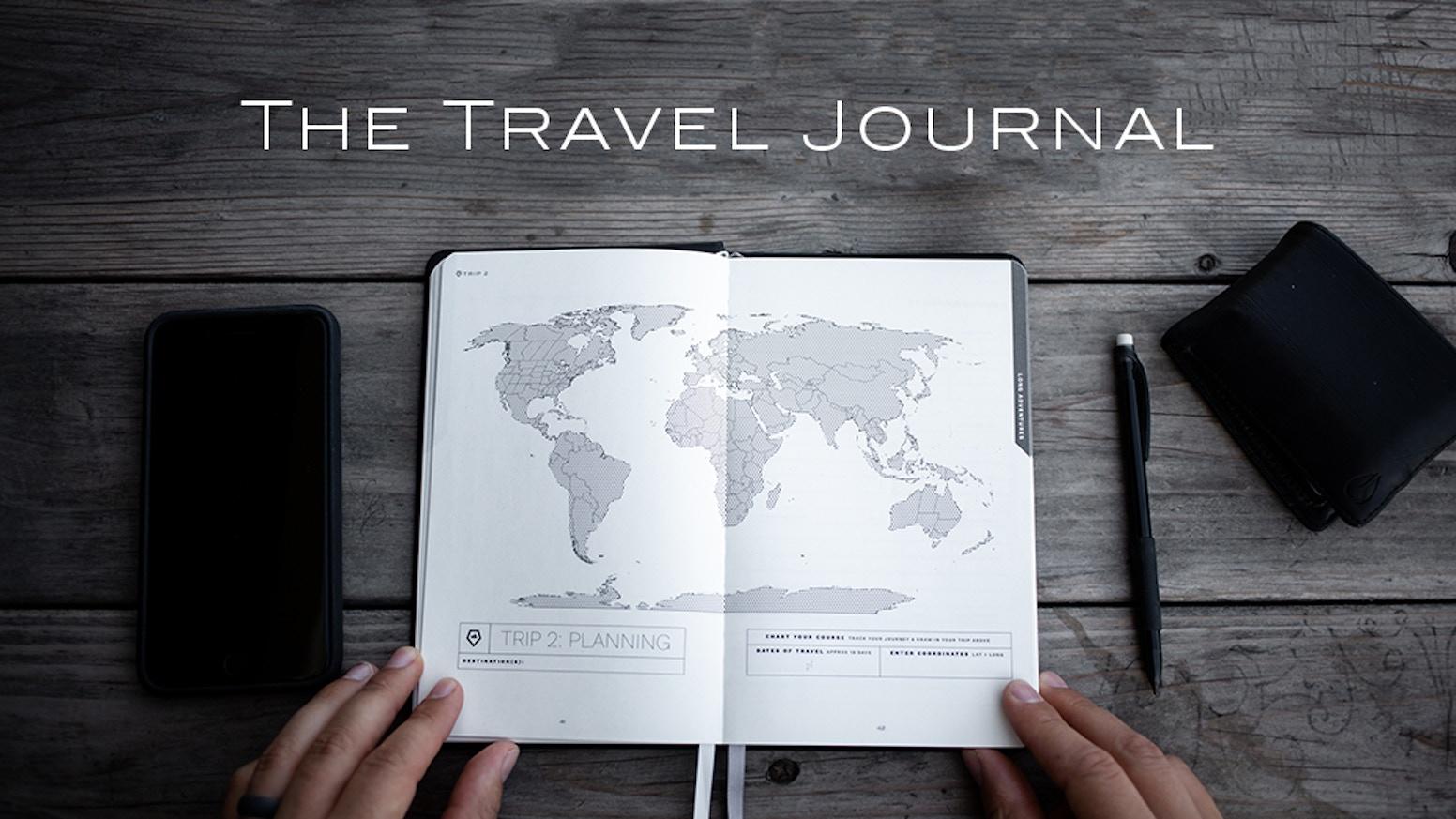 the travel journal by wandrd kickstarter
