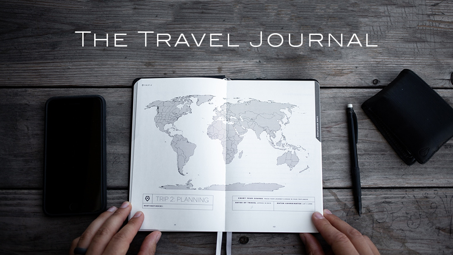 The WANDRD Travel Journal is the perfect tool to help you plan, enjoy, and remember your adventures.