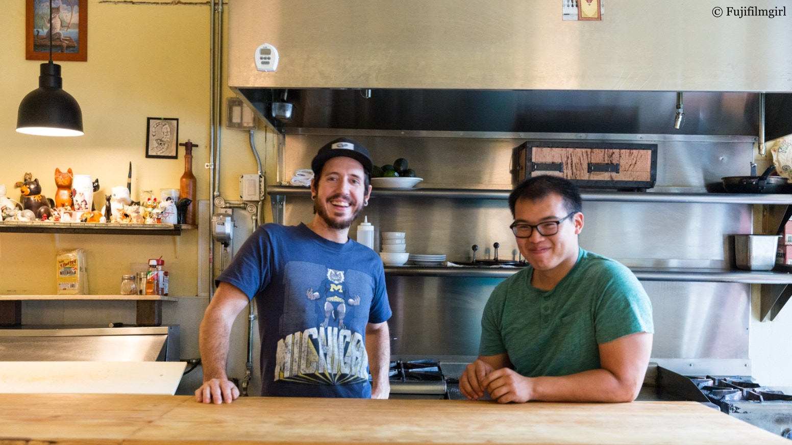 """If you thought our """"Georgian Thai"""" food was unique, just wait until you see the restaurant we're building."""