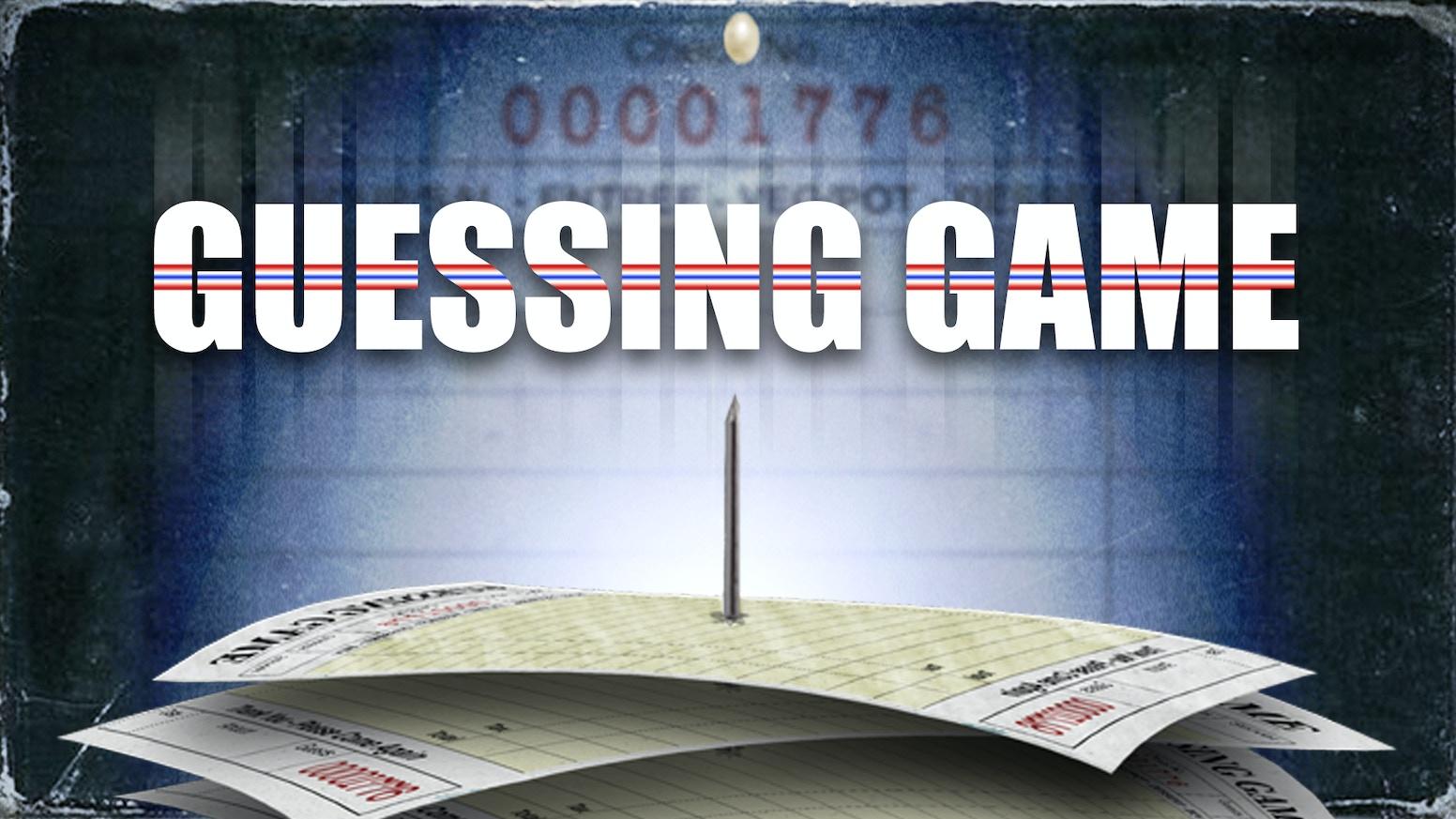 Guessing Game - A Short Film by Zach Wincik — Kickstarter