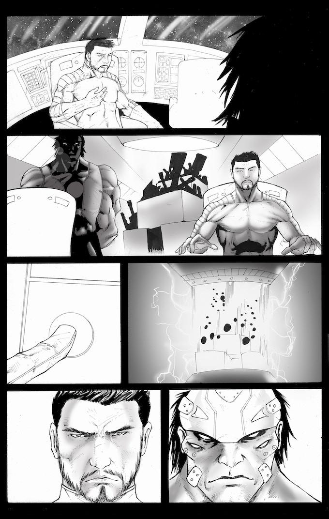 STRETCH GOAL #1 (LOCKED) - Lance Wonder 8 pg. Story
