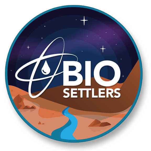 Free BioSettlers Stickers For All Contributions Over $10!