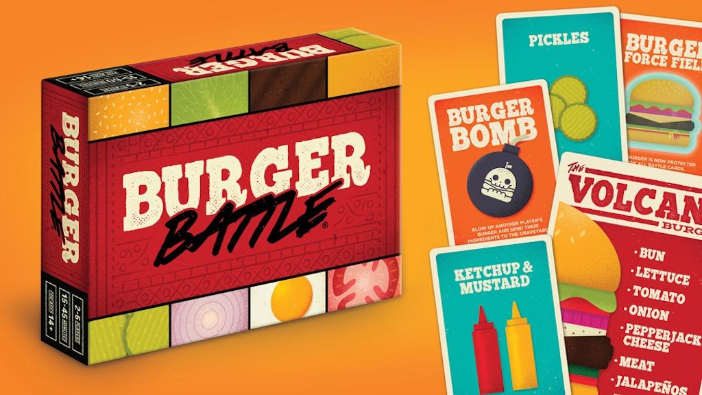 Burger Battle: Build Burgers & Destroy Your Friends! by