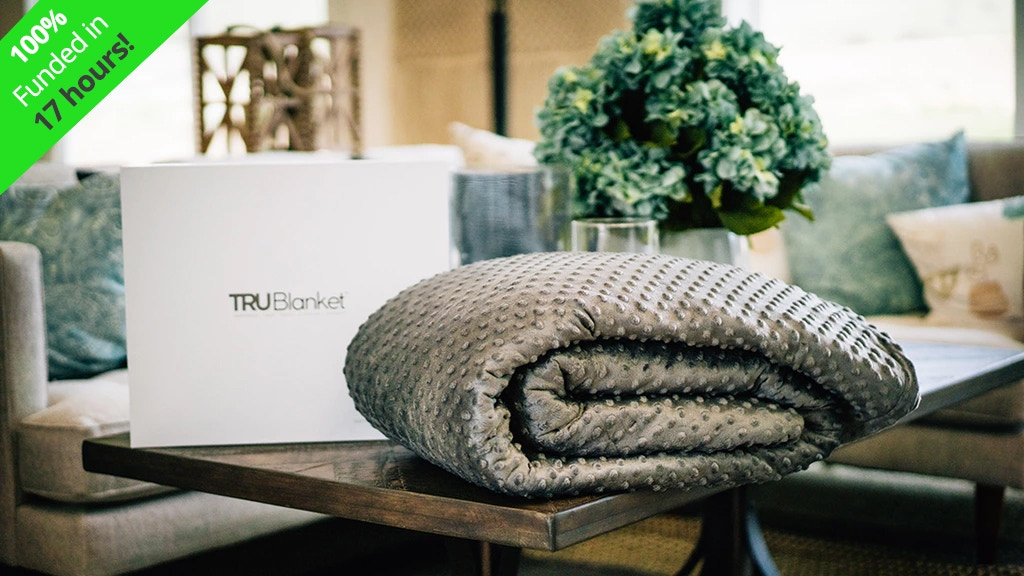 TRUBlanket - The World's Premiere Weighted Blanket