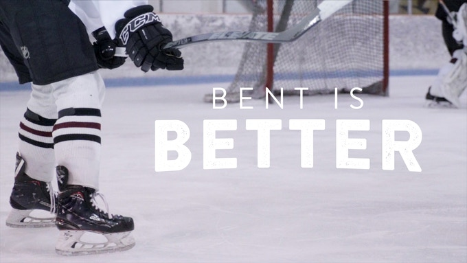 Elevate Hockey XL27 Dual Axis Hockey Stick - Bent is Better by