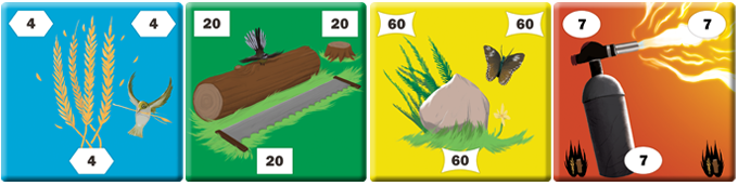 Build with straw, wood, stone... and blowtorches? The colorblind-friendly tiles feature native NZ flora and fauna.