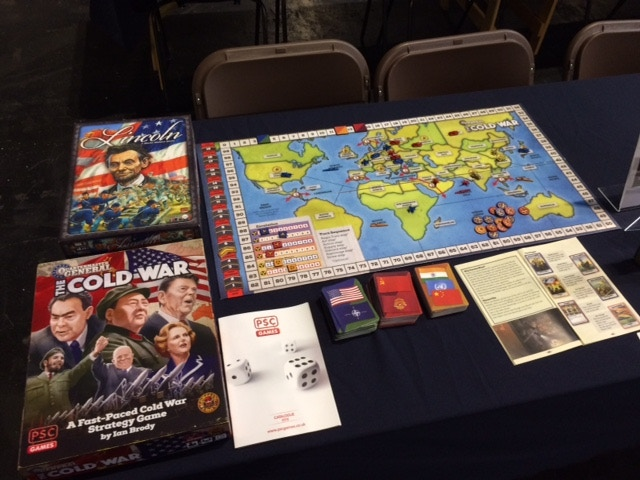 Pre-production copy of the game on show at UK Games Expo in June 2018.