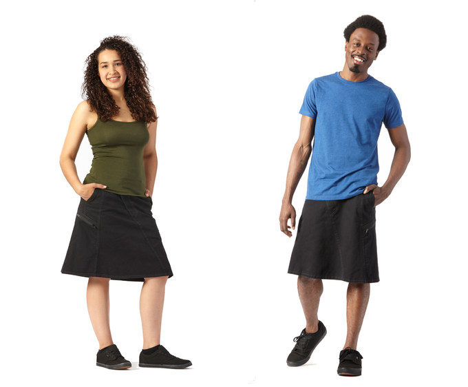 the Unaligned Skirt, our first product