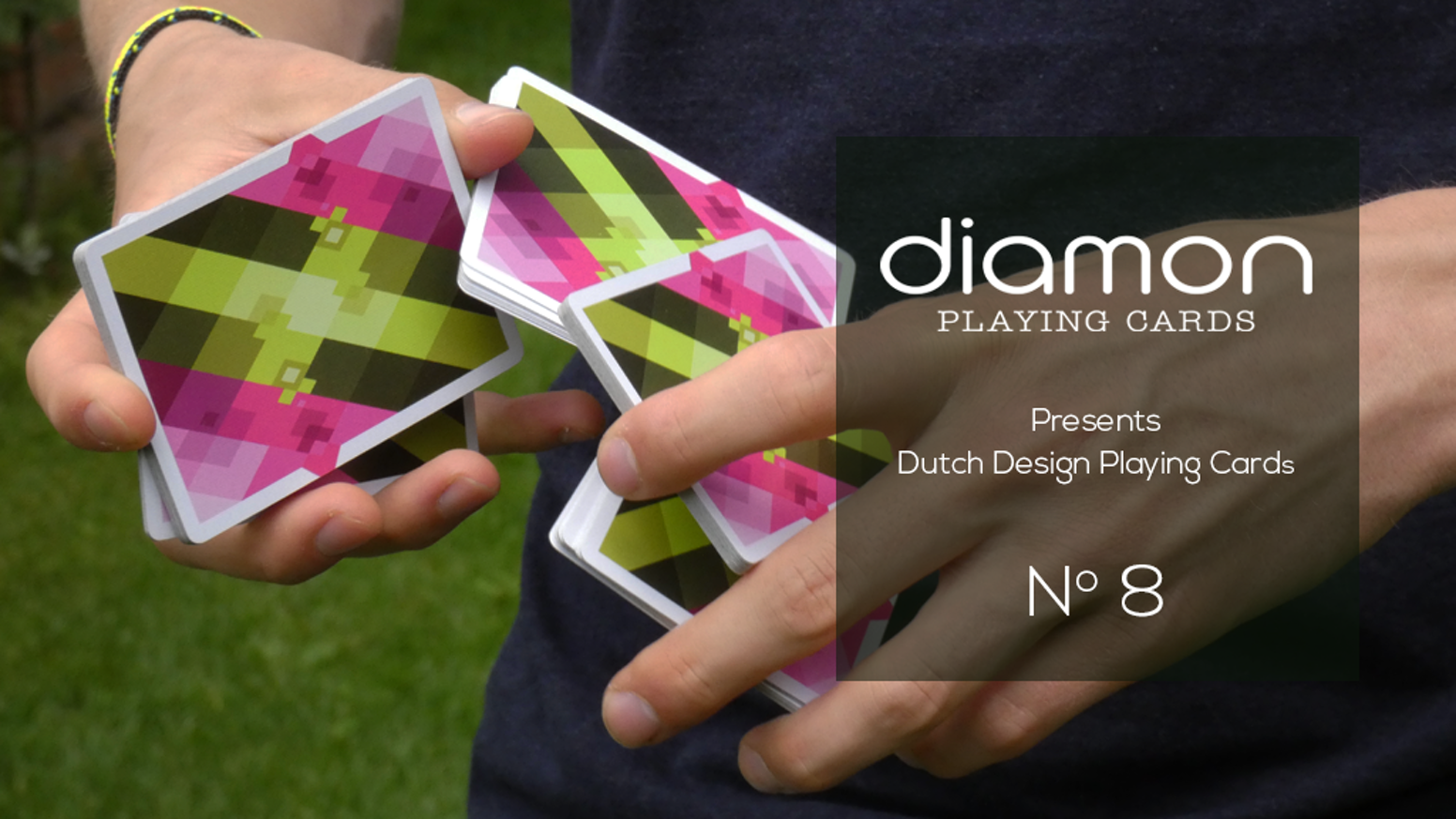 100% Custom Playing Cards for collectors, magicians and cardists. N° 8. Dutch Design, printed by the USPCC.
