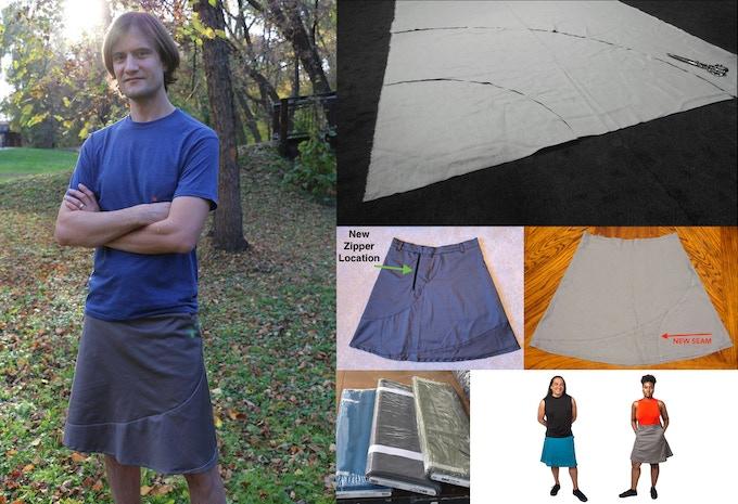 Aqueous Skirt development progress