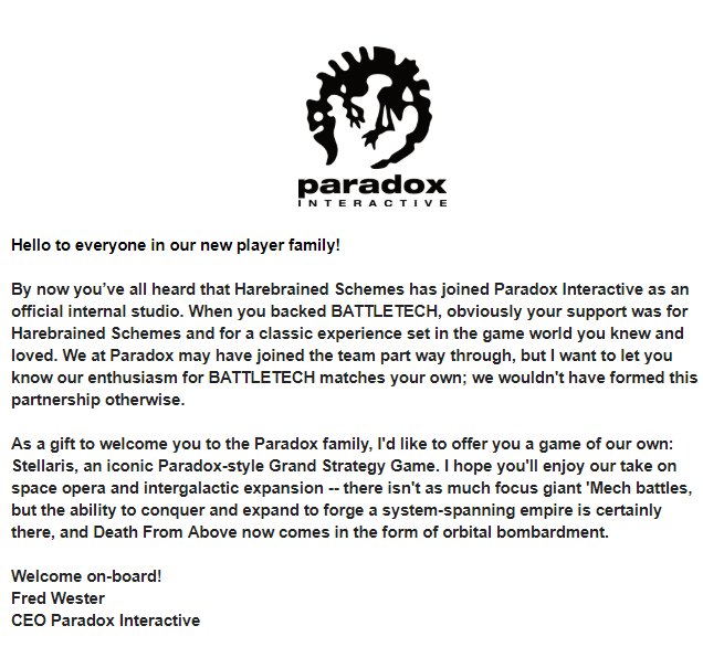 Project Updates for BATTLETECH on BackerKit Page 2