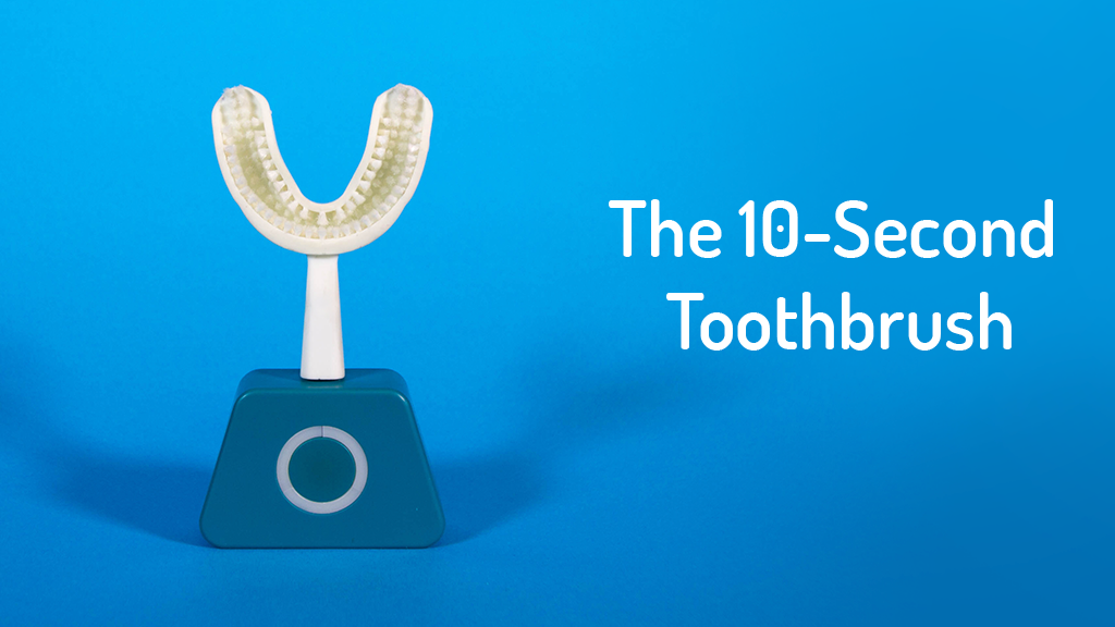 Y-Brush: The 10-Second Deep Cleaning Toothbrush