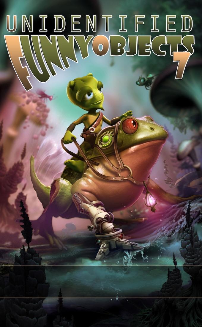 UFO7 cover by Tomasz Maronski