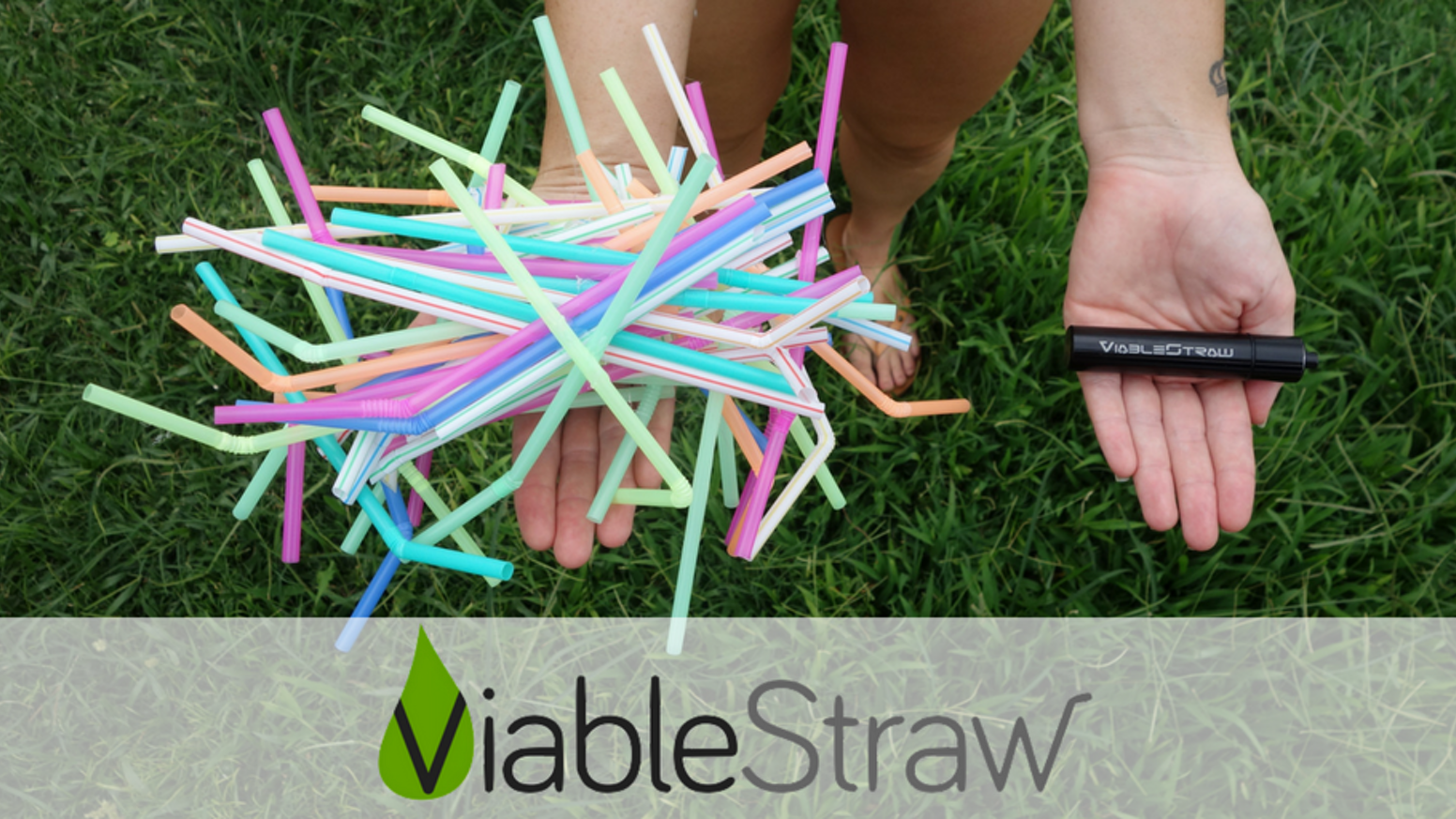 With the Patent-Pending telescopic design, ViableStraw goes from your keychain to fitting all of your favourite sized drinks with ease!