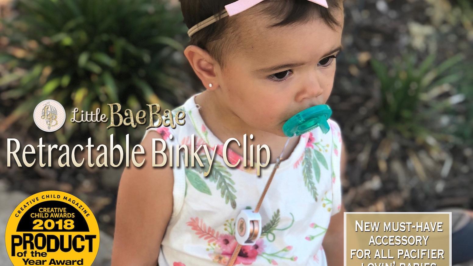 71fade4318d4 Little BaeBae Retractable Binky Clip