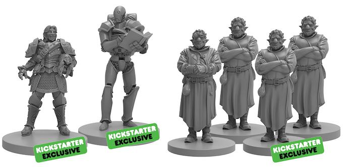 Kickstarter Exclusive miniatures