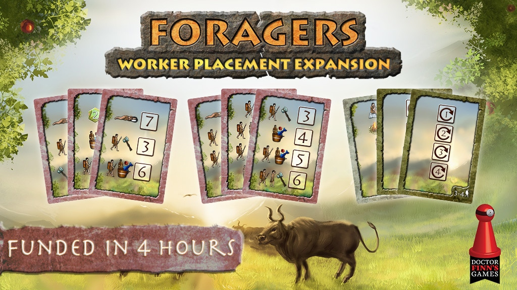 Foragers: Worker Placement Expansion project video thumbnail