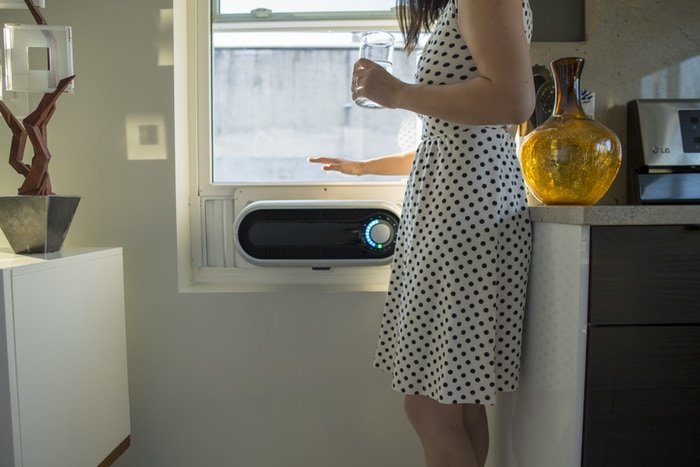 "Kapsul is the first window air conditioner designed entirely with you in mind.    => Retail availability: Spring 2019 in US and Canada   => Target retail price: US$599.00   => Backers please click the ""Updates"" link below for detail"