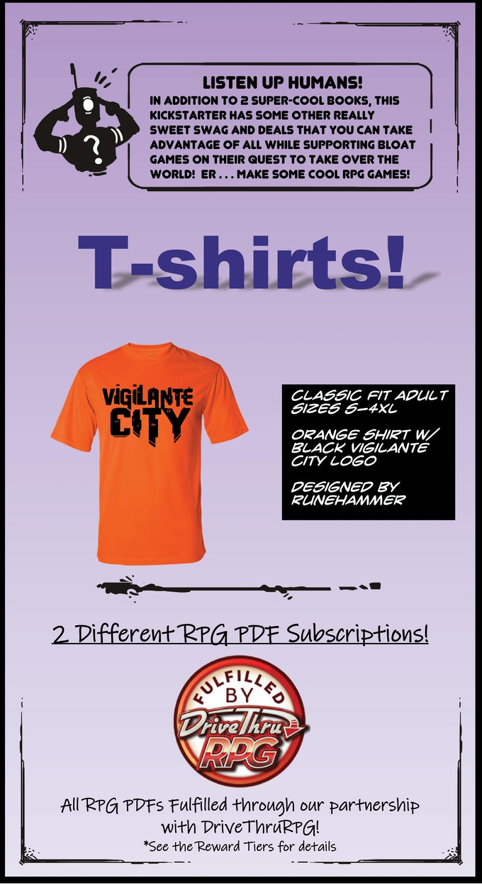 SURVIVE THIS!! Vigilante City Tabletop Roleplaying Game by Eric