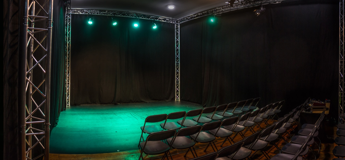 Our theatre space, the Ivy Studio
