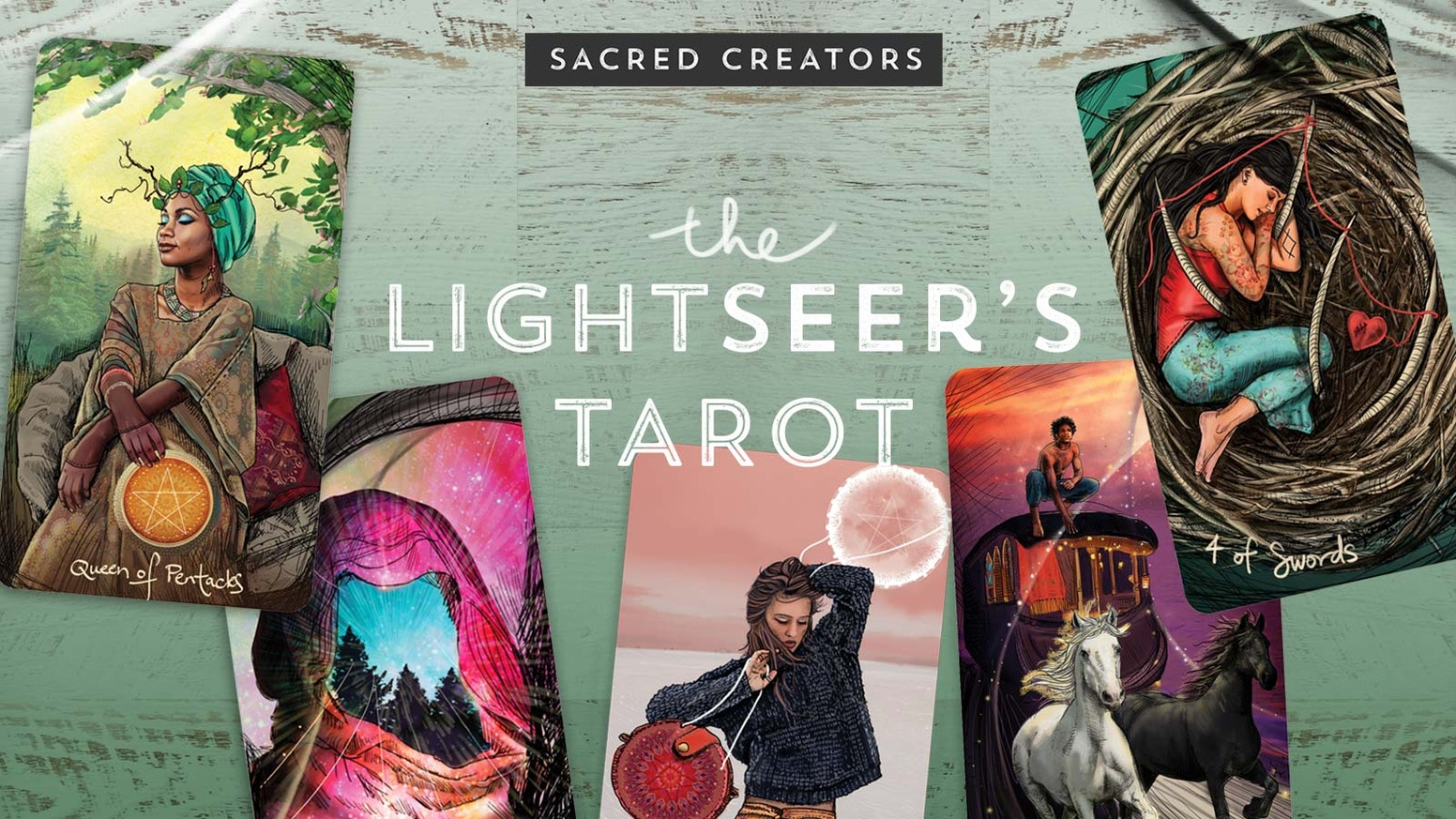 2 wildly different tarot decks, and one magical launch! The Light Seer's AND The Muse Tarot, tools for the modern cardslinger! ☽✩
